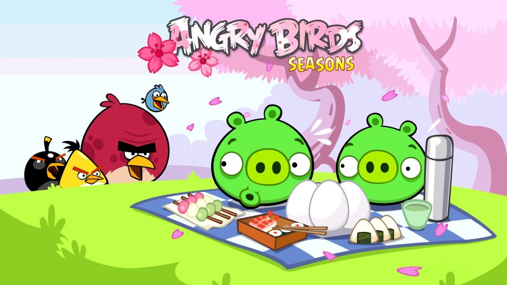 Angry Birds Full HD Background