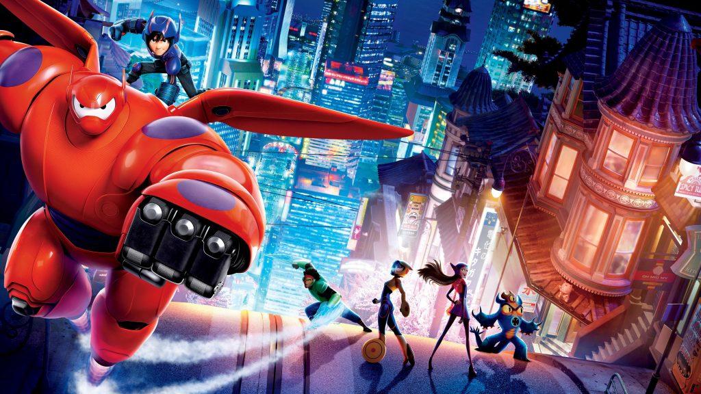 Big Hero 6 4K UHD Wallpaper