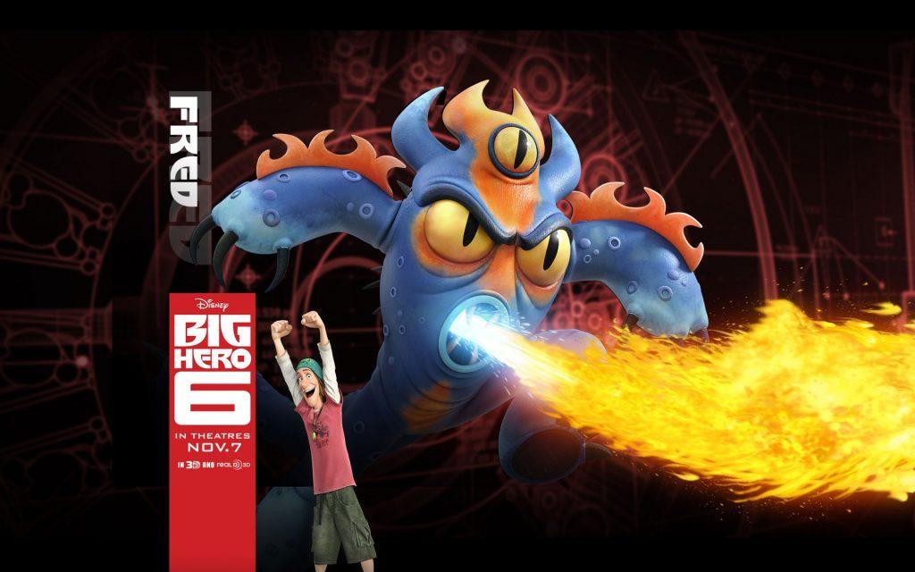 Big Hero 6 Widescreen Wallpaper