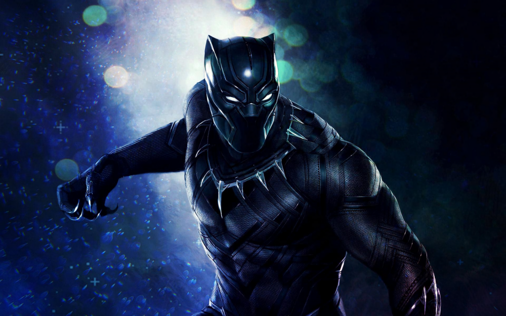 Black Panther Widescreen Wallpaper