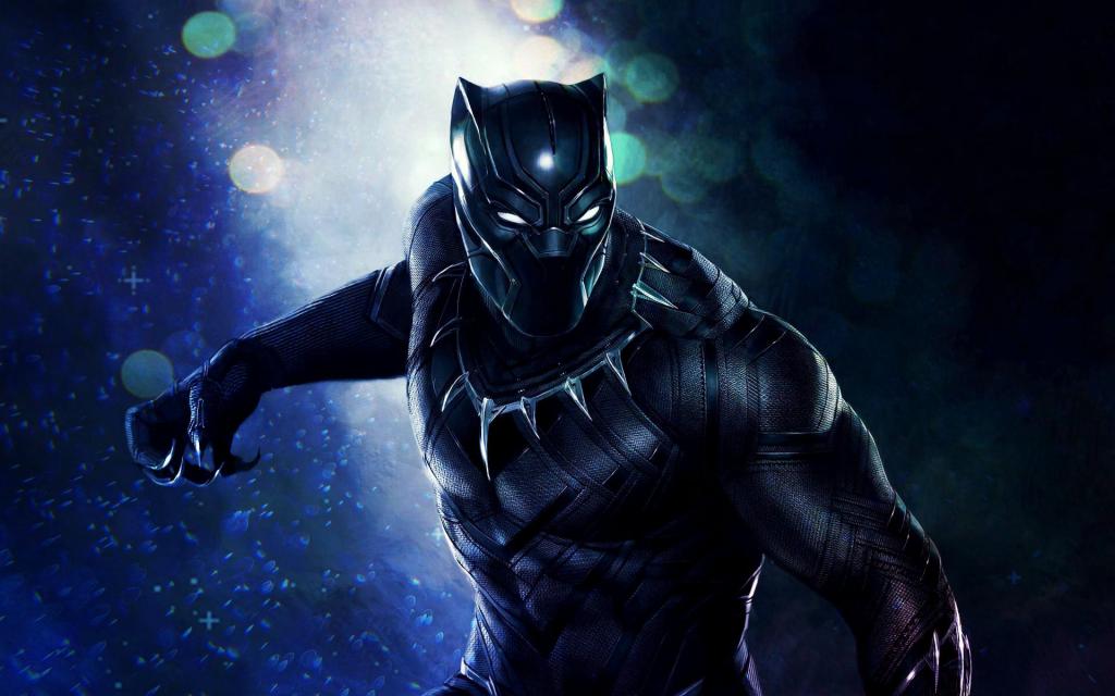 Black Panther Widescreen Wallpaper