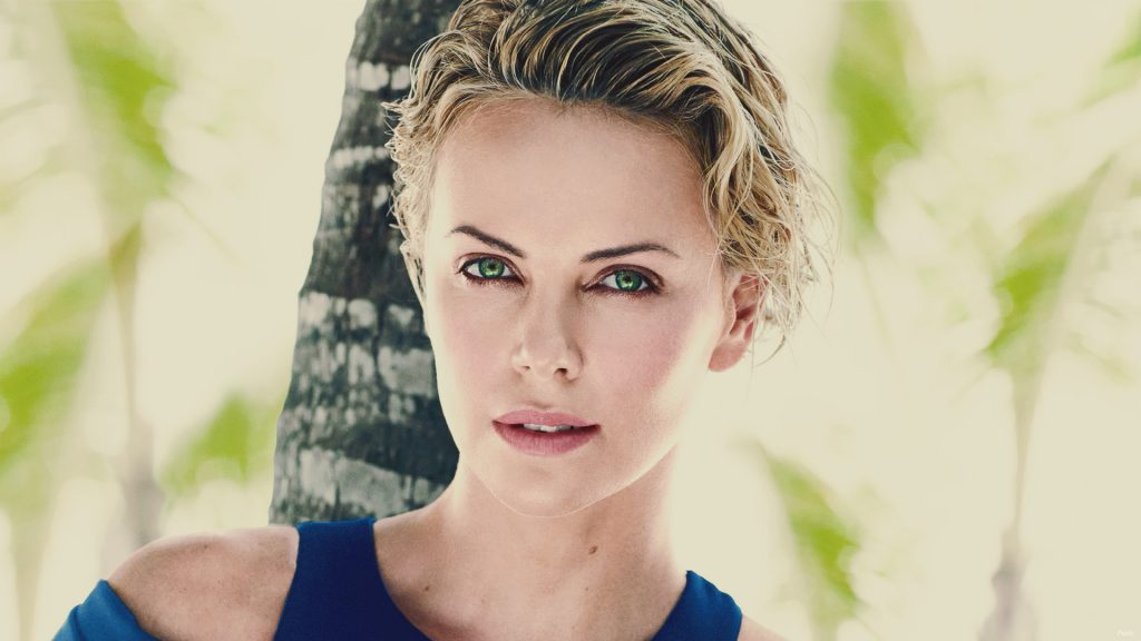Charlize Theron HD Full HD Background