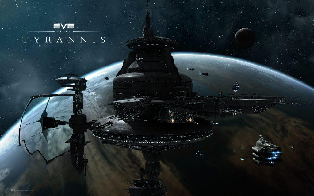 EVE Online Widescreen Background
