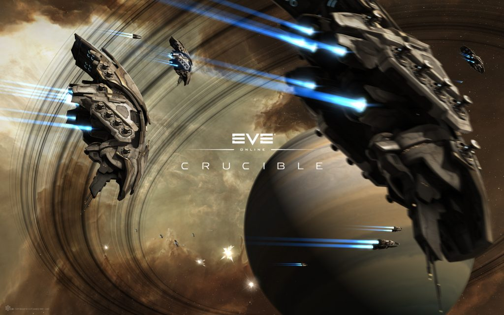 EVE Online Widescreen Background