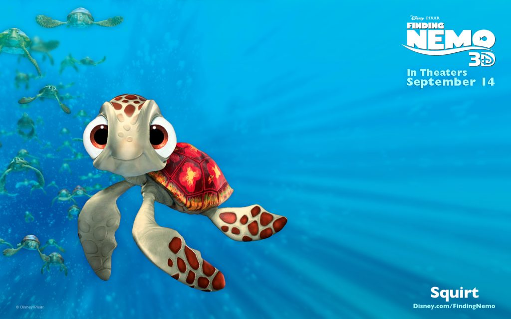 Finding Nemo Widescreen Wallpaper