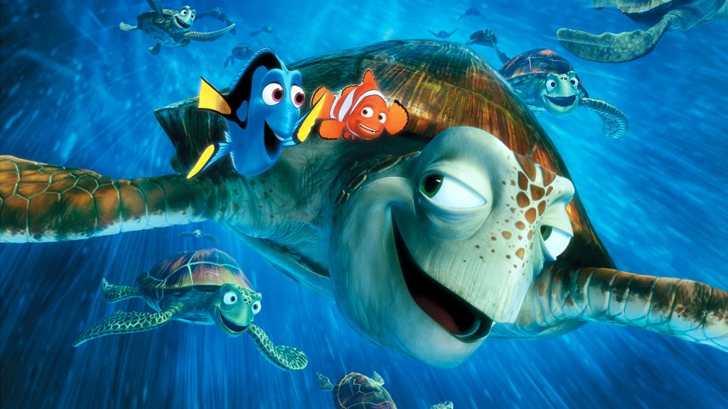 Finding Nemo Full HD Wallpaper