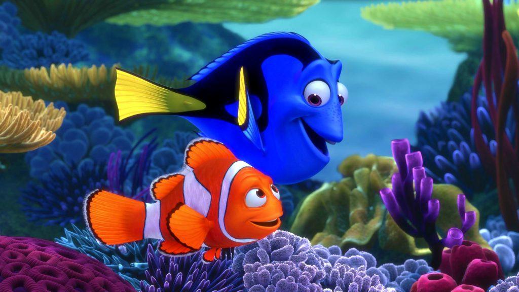 Finding Nemo Full HD Wallpaper