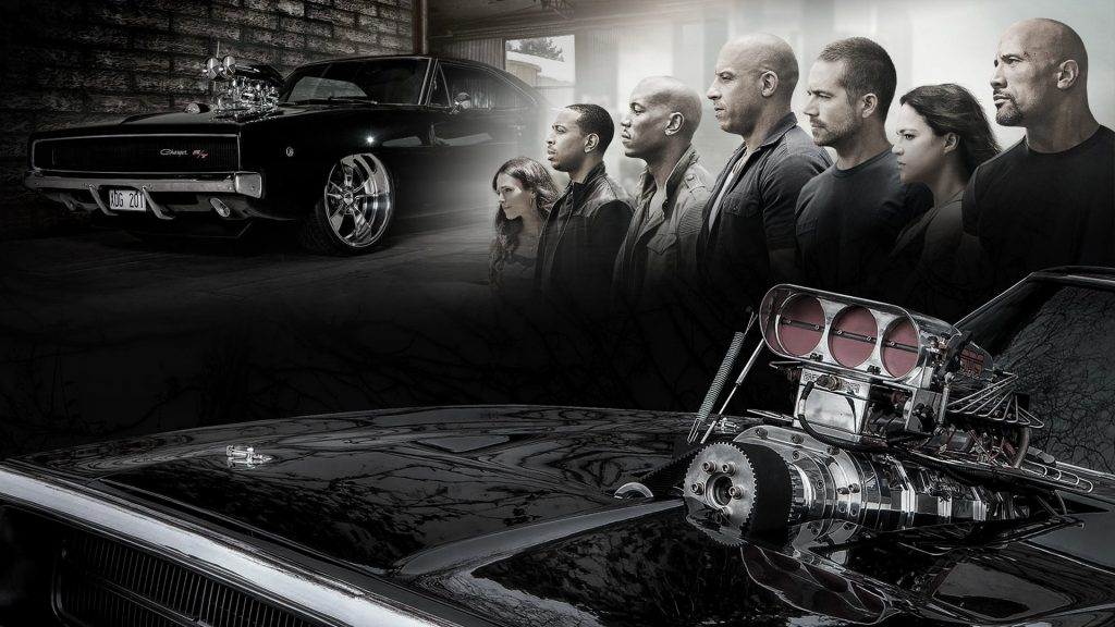 Furious 7 Full HD Background