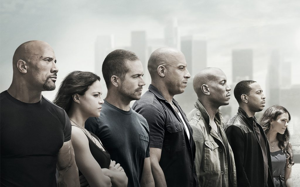 Furious 7 Widescreen Background