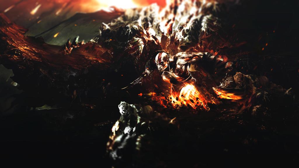 God Of War 4K UHD Wallpaper