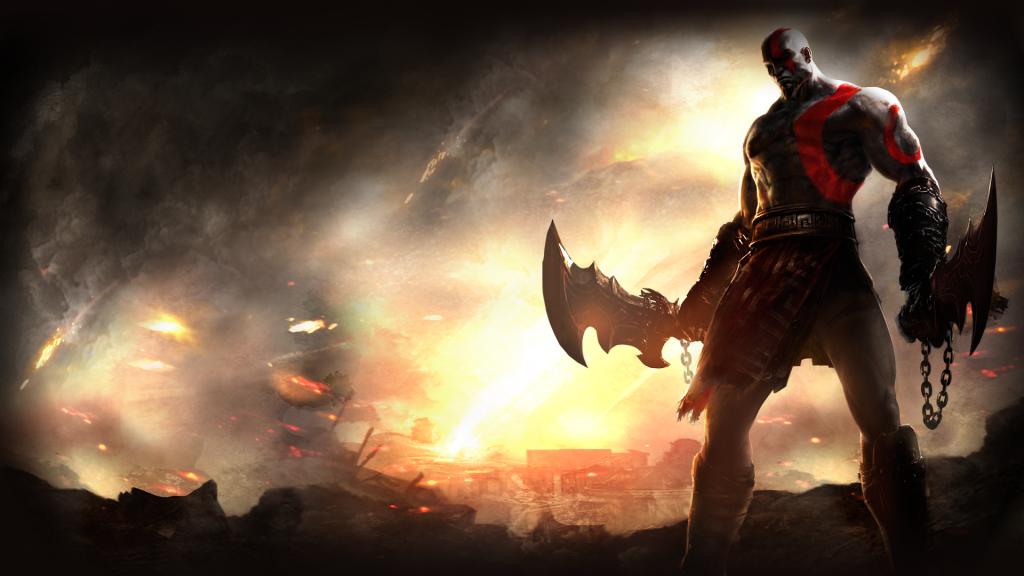 God Of War Full HD Wallpaper