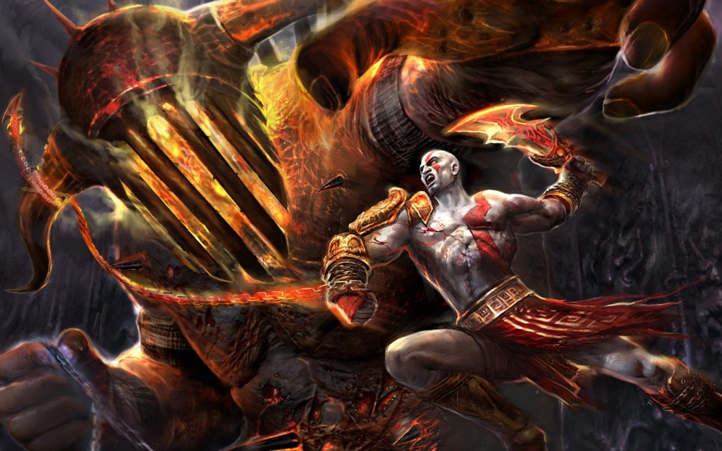 God Of War Widescreen Wallpaper