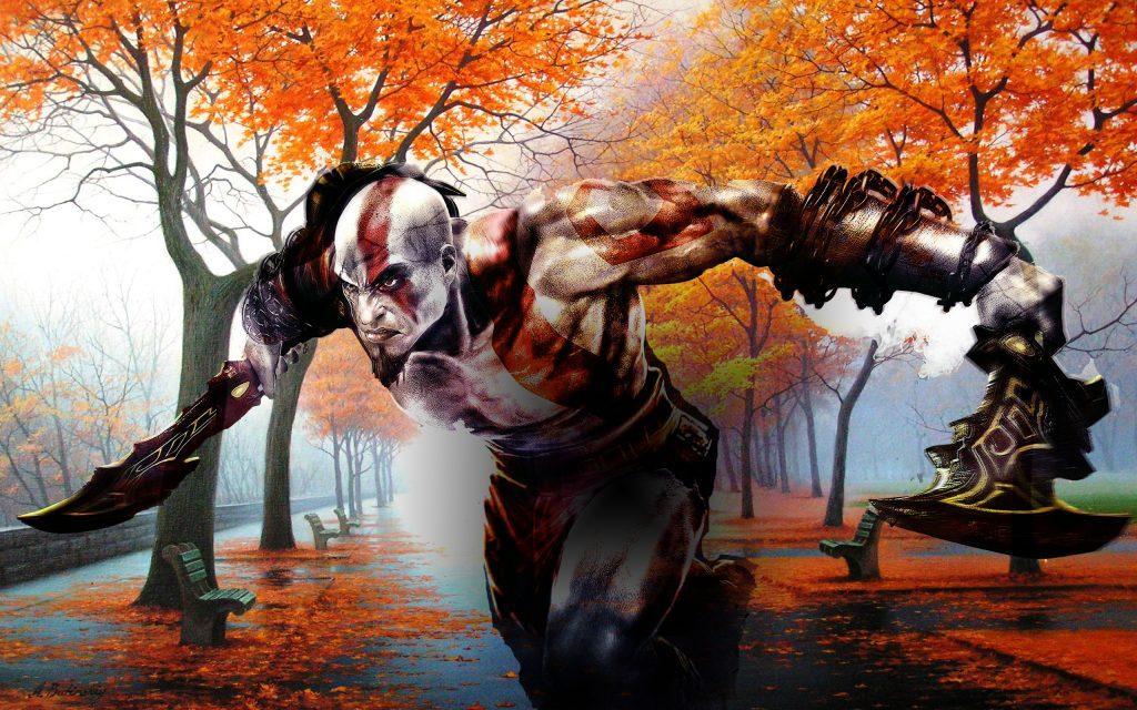 God Of War Widescreen Wallpaper