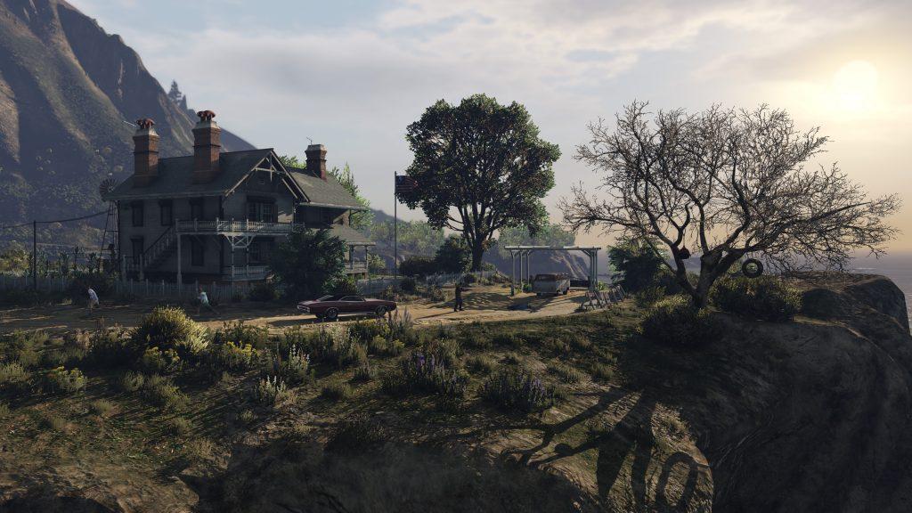 Grand Theft Auto V 4K UHD Background