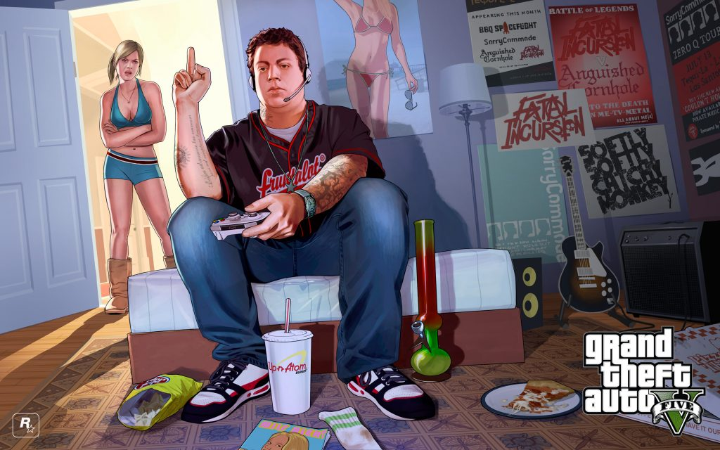 Grand Theft Auto V Widescreen Background