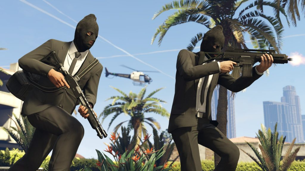 Grand Theft Auto V Full HD Background