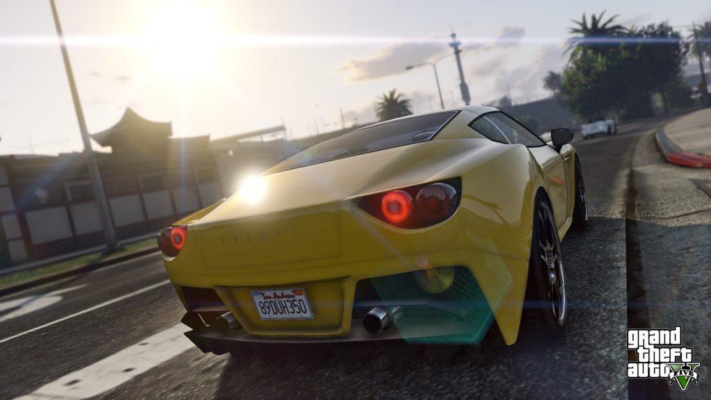 Grand Theft Auto V Full HD Background