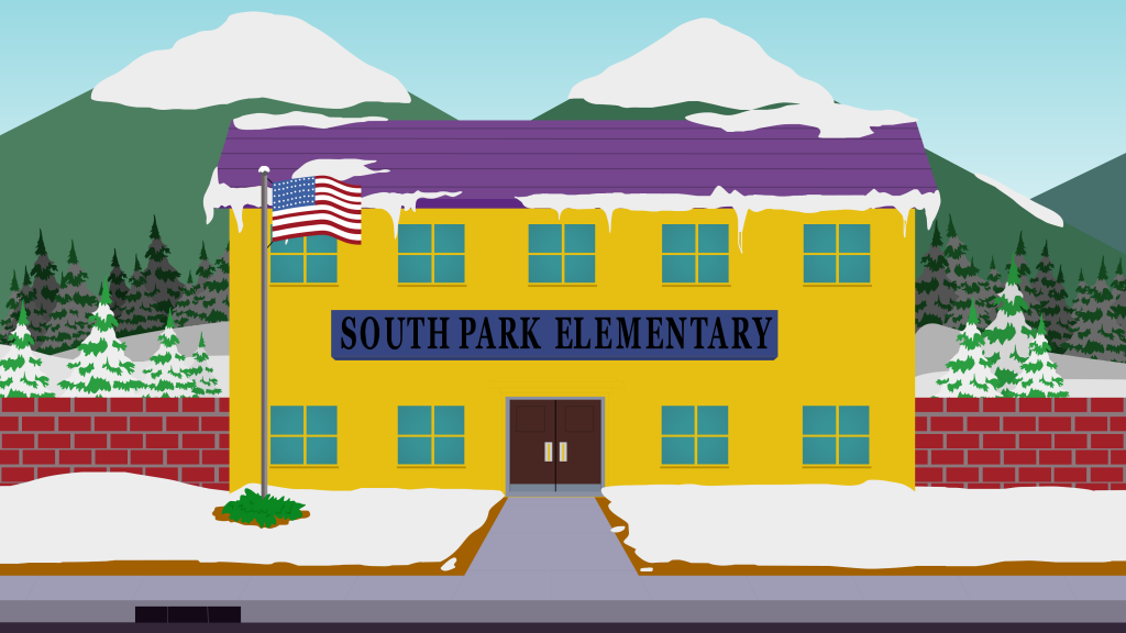 South Park HD 4K UHD Background