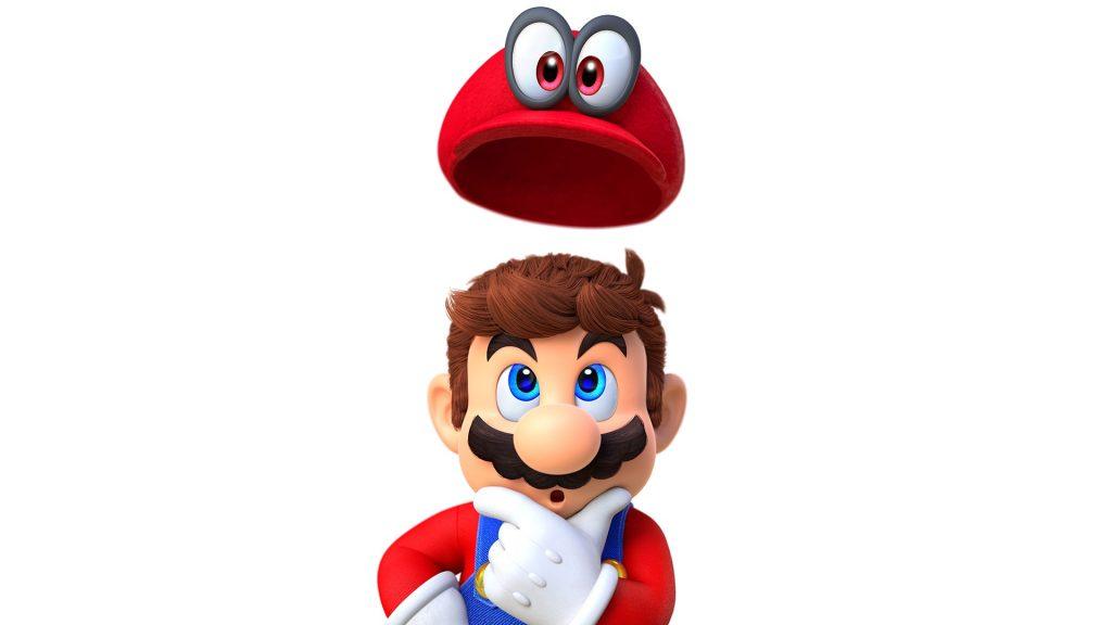 Super Mario Odyssey Full HD Wallpaper