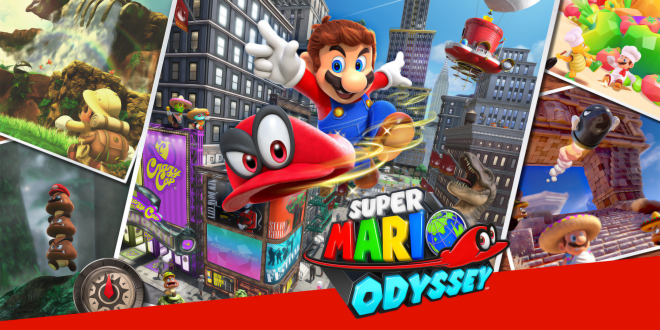 Super Mario Odyssey Wallpapers