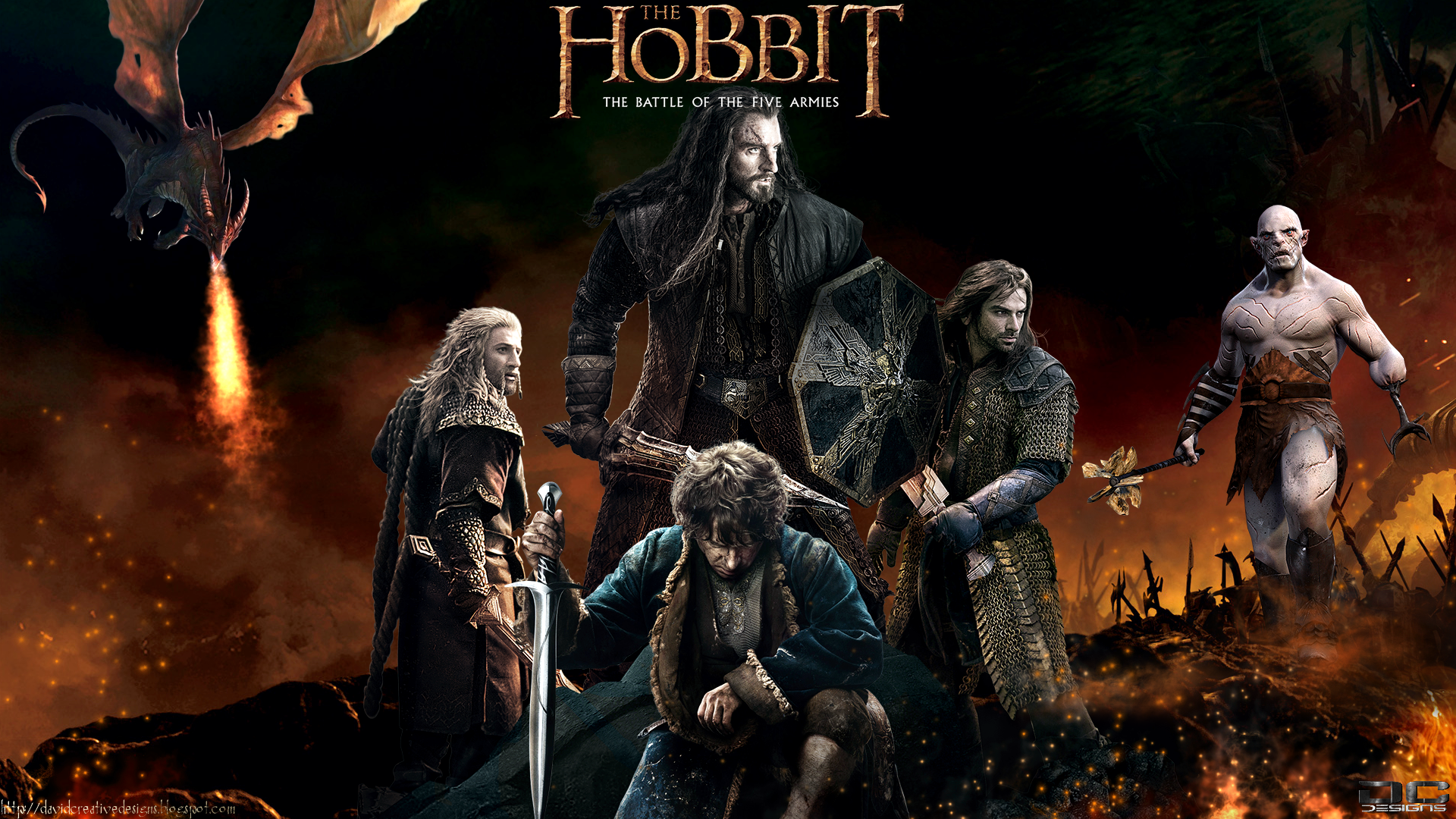 the hobbit theme This theme features the pictures of the hobbit 2 - more hd wallpapers will follow the hobbit 3: the battle of the five armies trailer the.