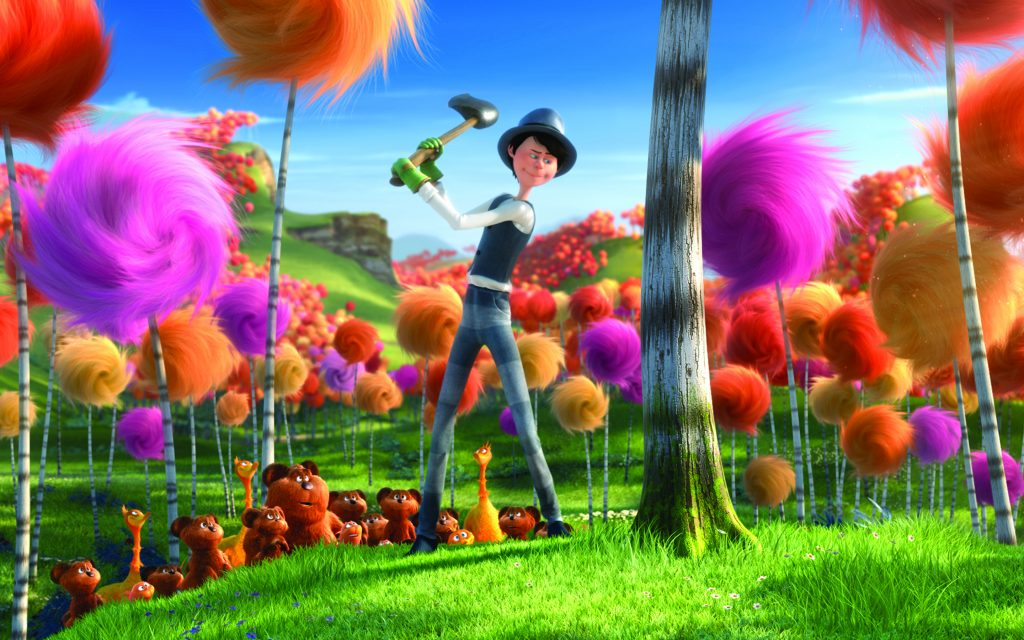 The Lorax Widescreen Wallpaper