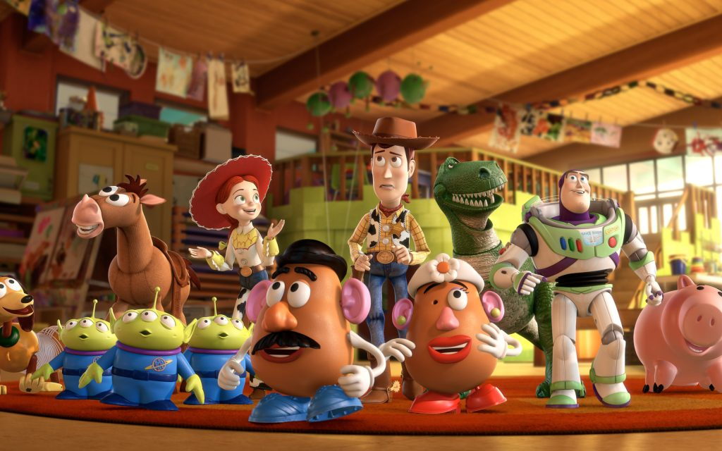 Toy Story Widescreen Background