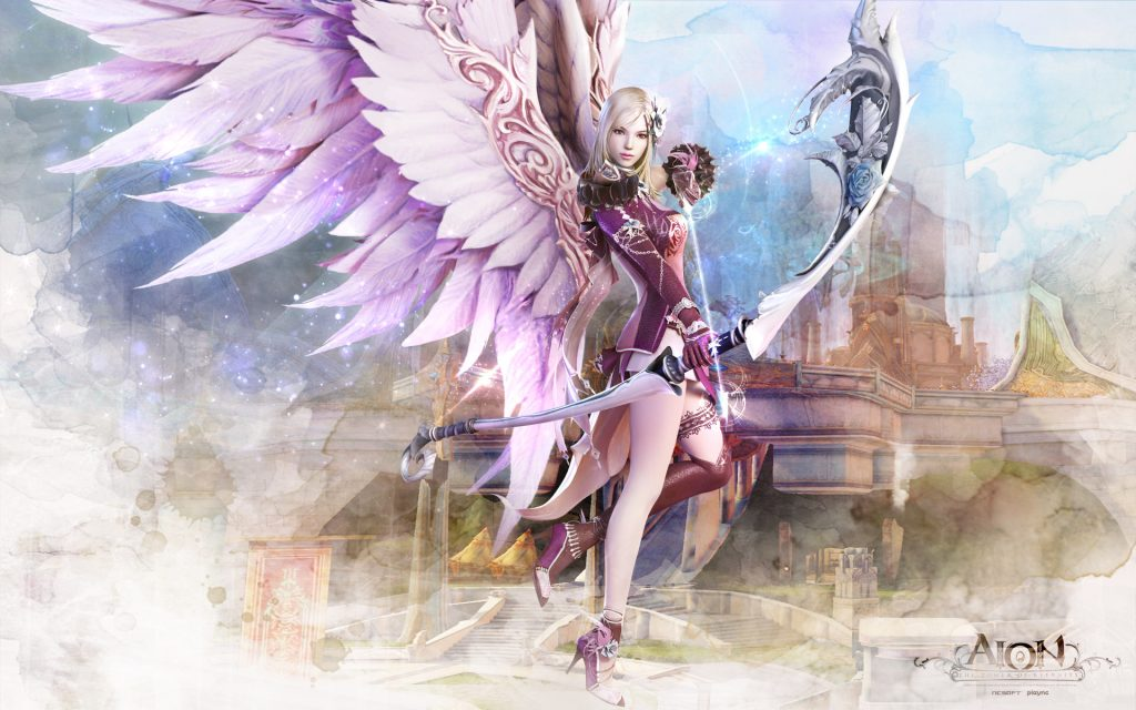 Aion Widescreen Background