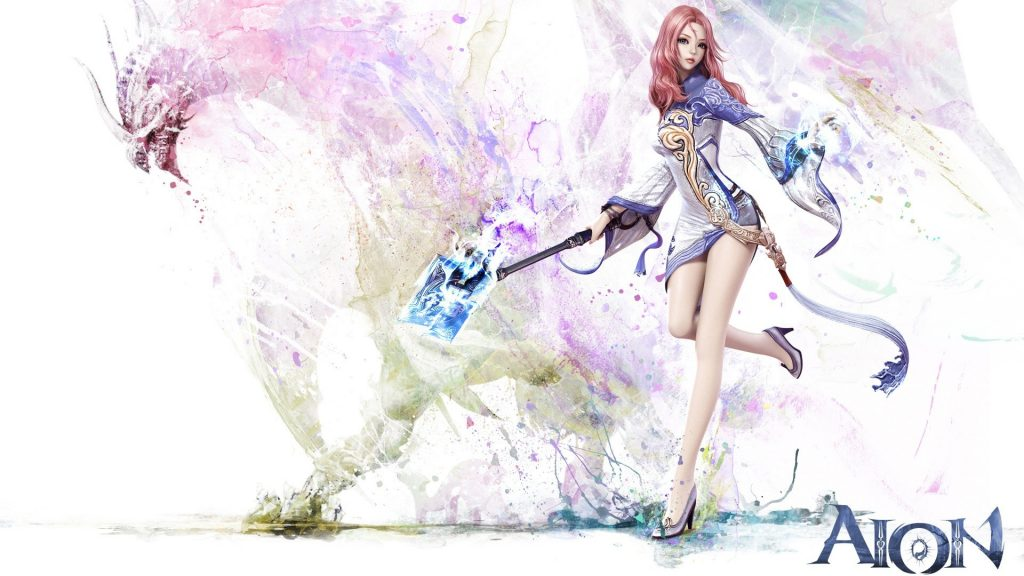 Aion Full HD Background