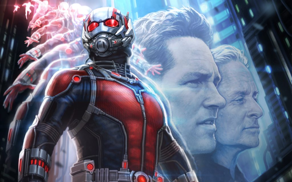 Ant-Man Widescreen Background