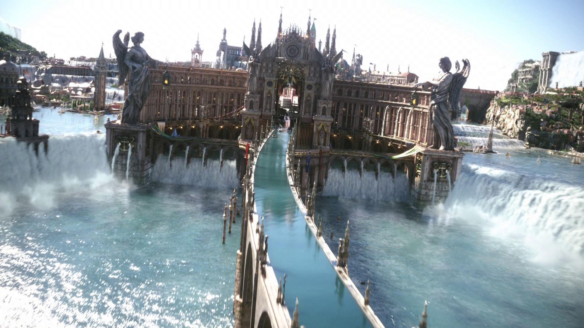 Final Fantasy XV Full HD Background