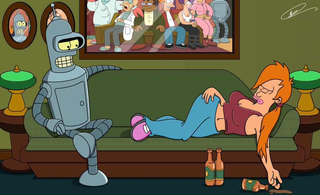 Futurama HD Background