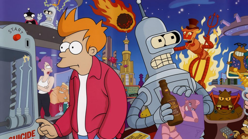 Futurama HD Full HD Background