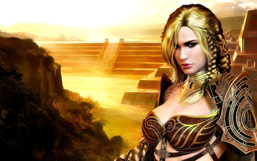 Guild Wars Widescreen Wallpaper