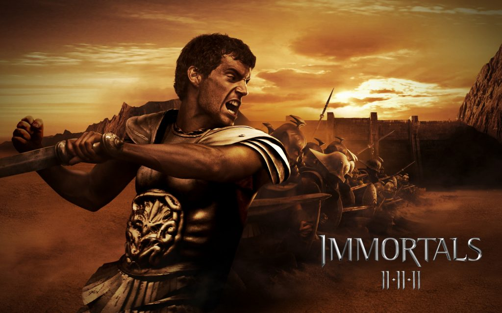Immortals Widescreen Wallpaper
