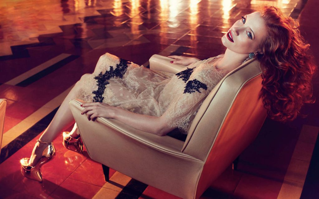 Jessica Chastain Widescreen Wallpaper