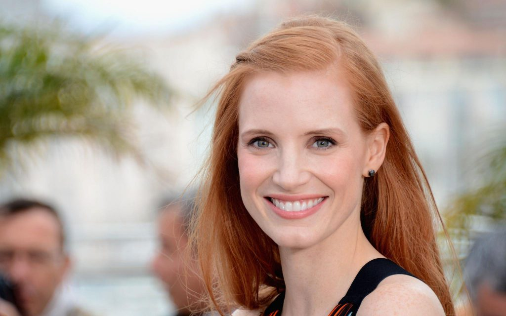 Jessica Chastain Widescreen Wallpaper