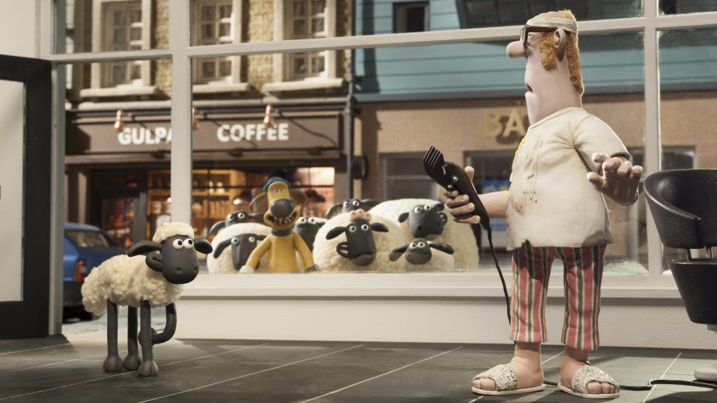 Shaun The Sheep Movie 4K UHD Wallpaper