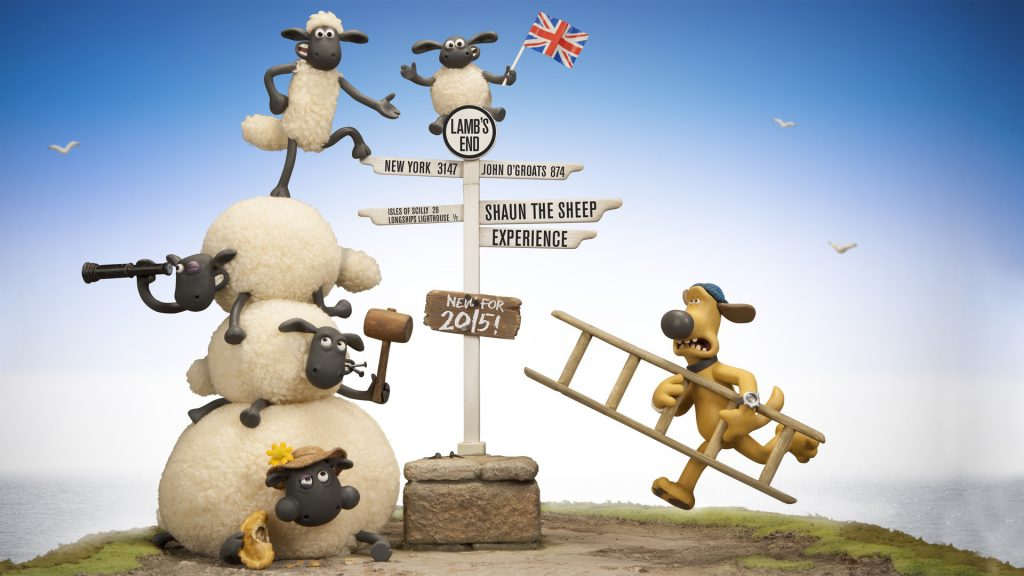 Shaun The Sheep Movie Full HD Wallpaper