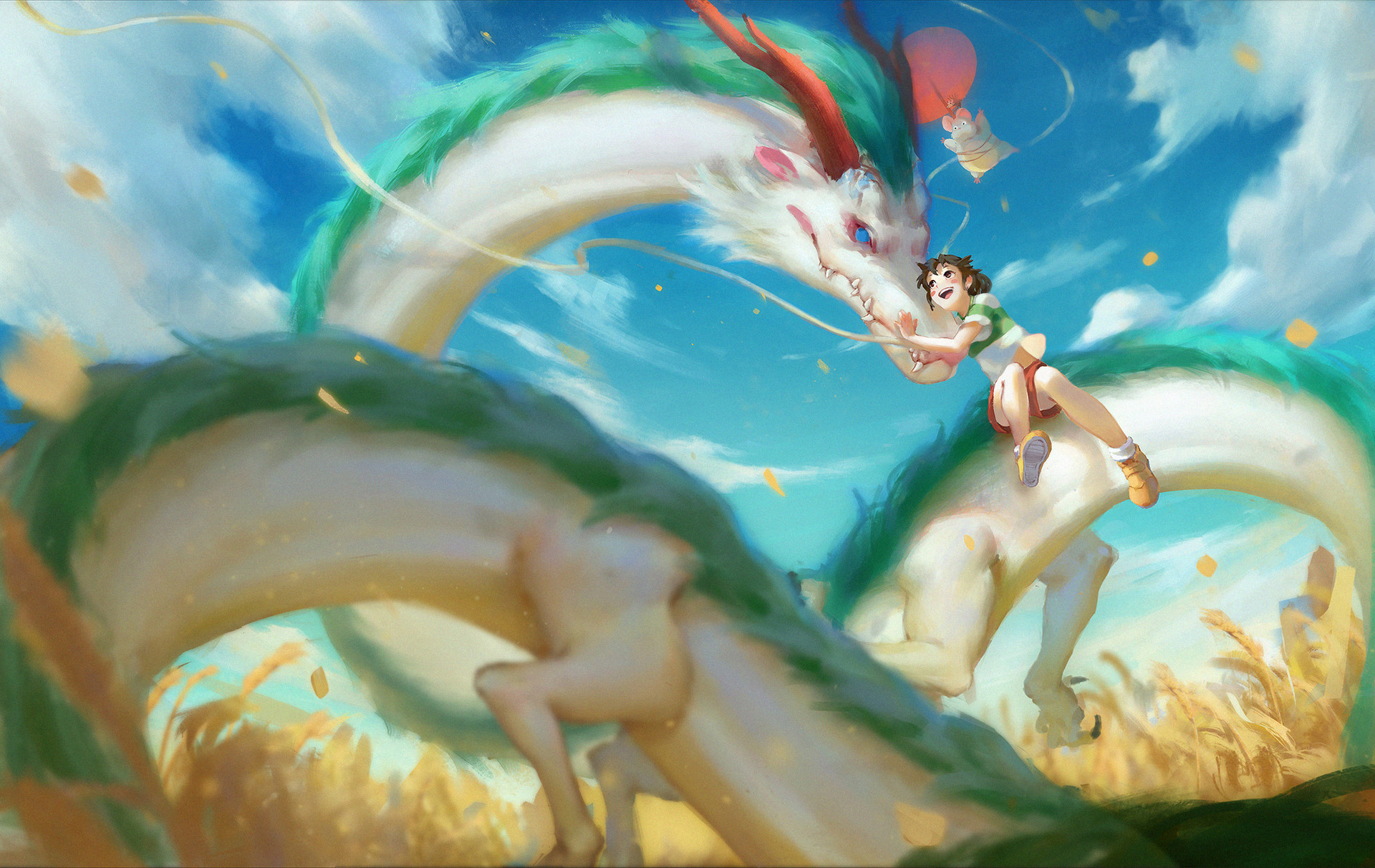 Spirited Away Wallpapers, Pictures, Images