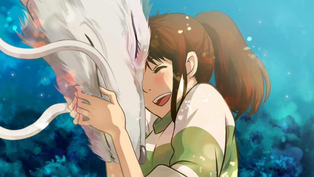 Spirited Away Full HD Wallpaper