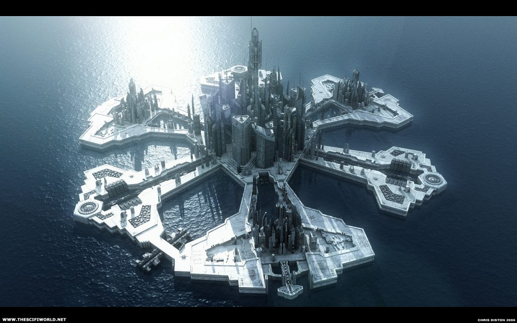 Stargate Atlantis Widescreen Wallpaper