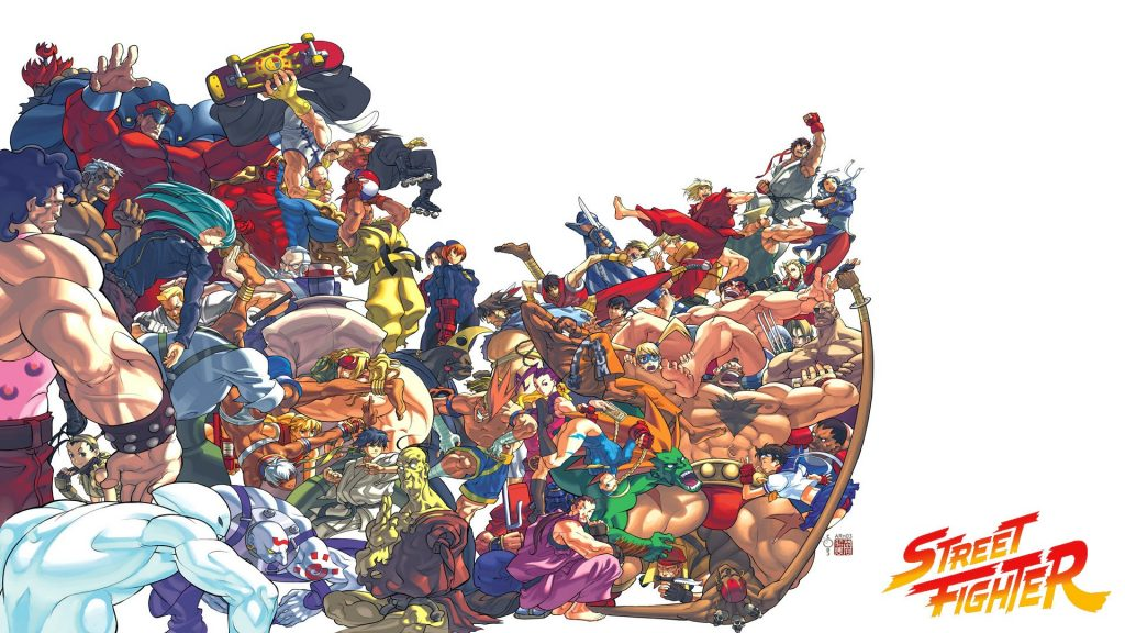 Street Fighter Full HD Wallpaper
