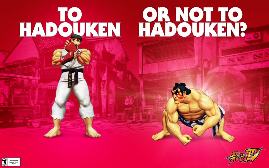 Street Fighter Widescreen Wallpaper