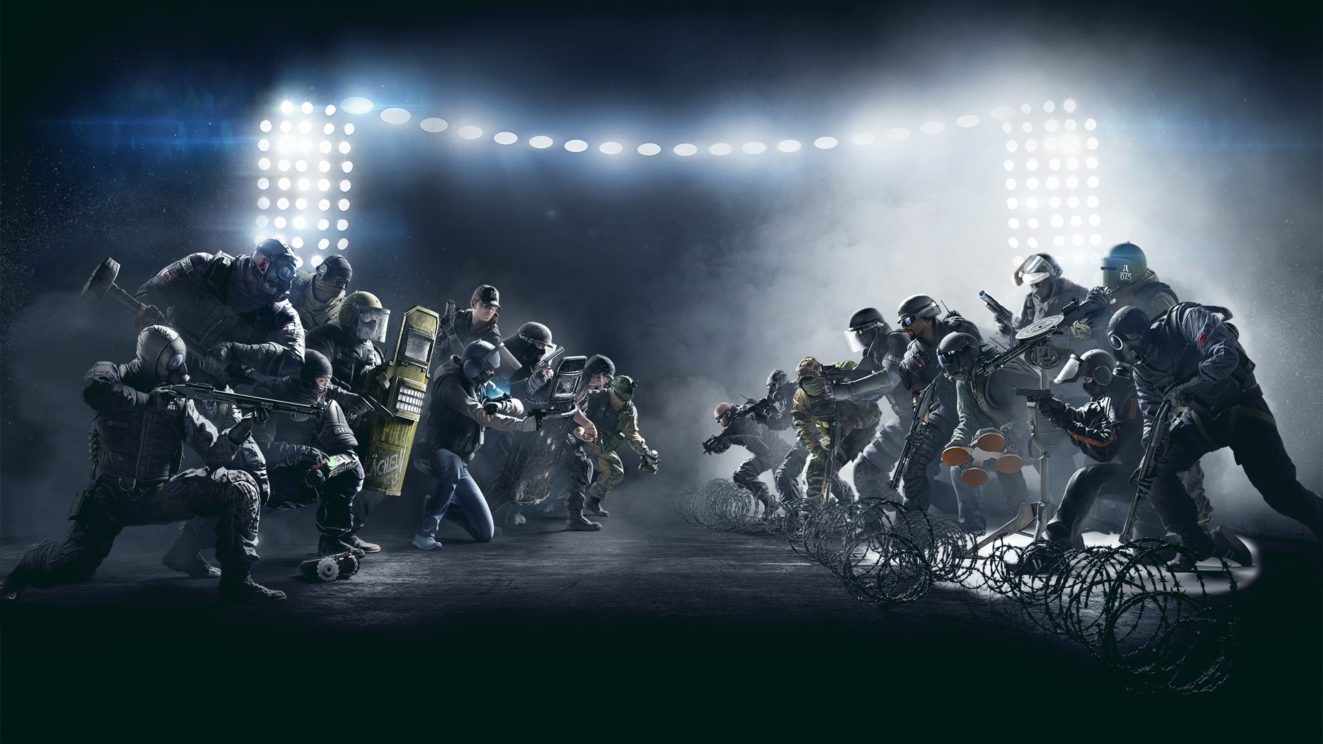 Tom clancy 39 s rainbow six siege wallpapers pictures images for Fond ecran r6