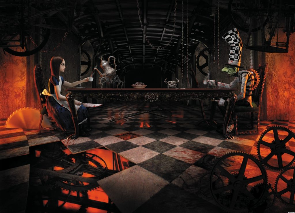 Alice: Madness Returns Background