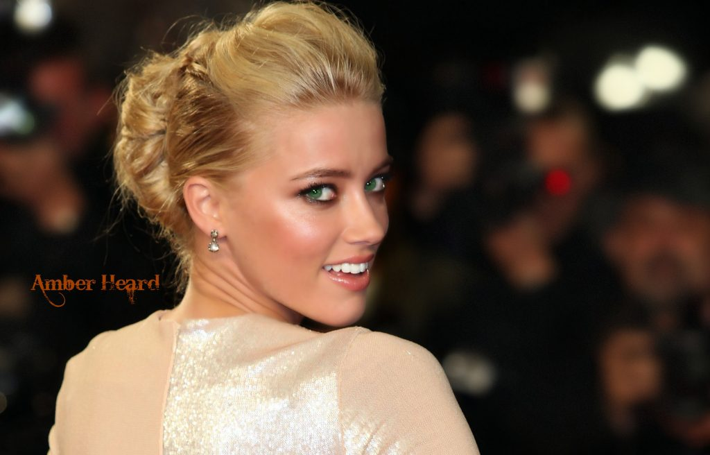 Amber Heard HD Wallpaper