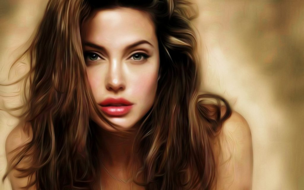 Angelina Jolie Background