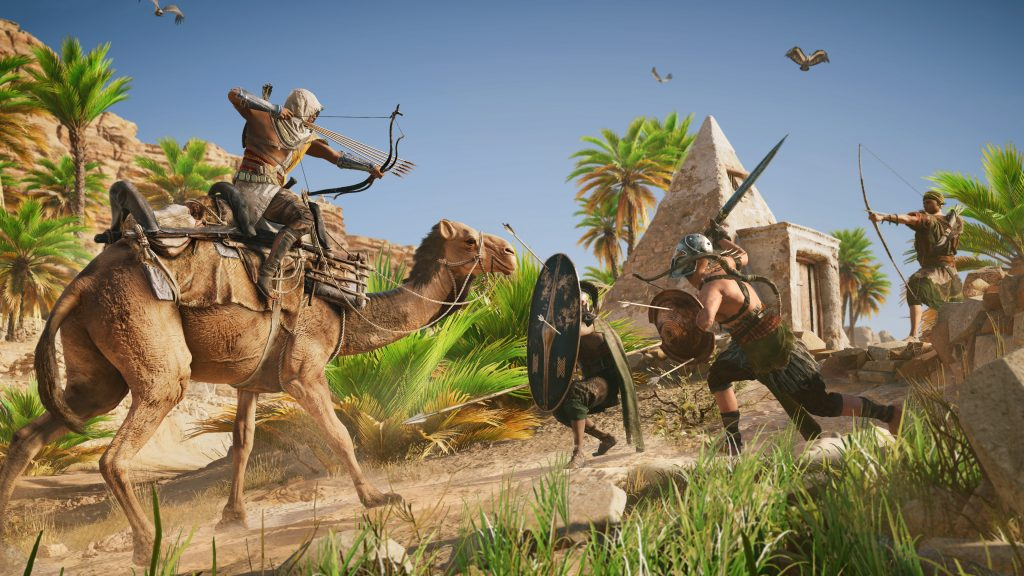 Assassin's Creed Origins 4K UHD Wallpaper