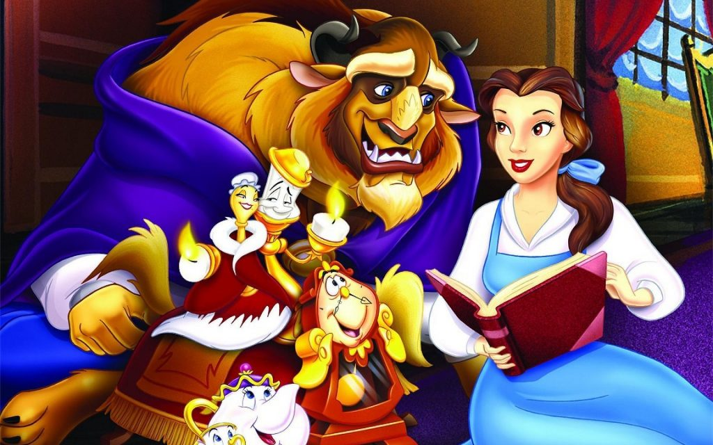 Beauty And The Beast Widescreen Wallpaper